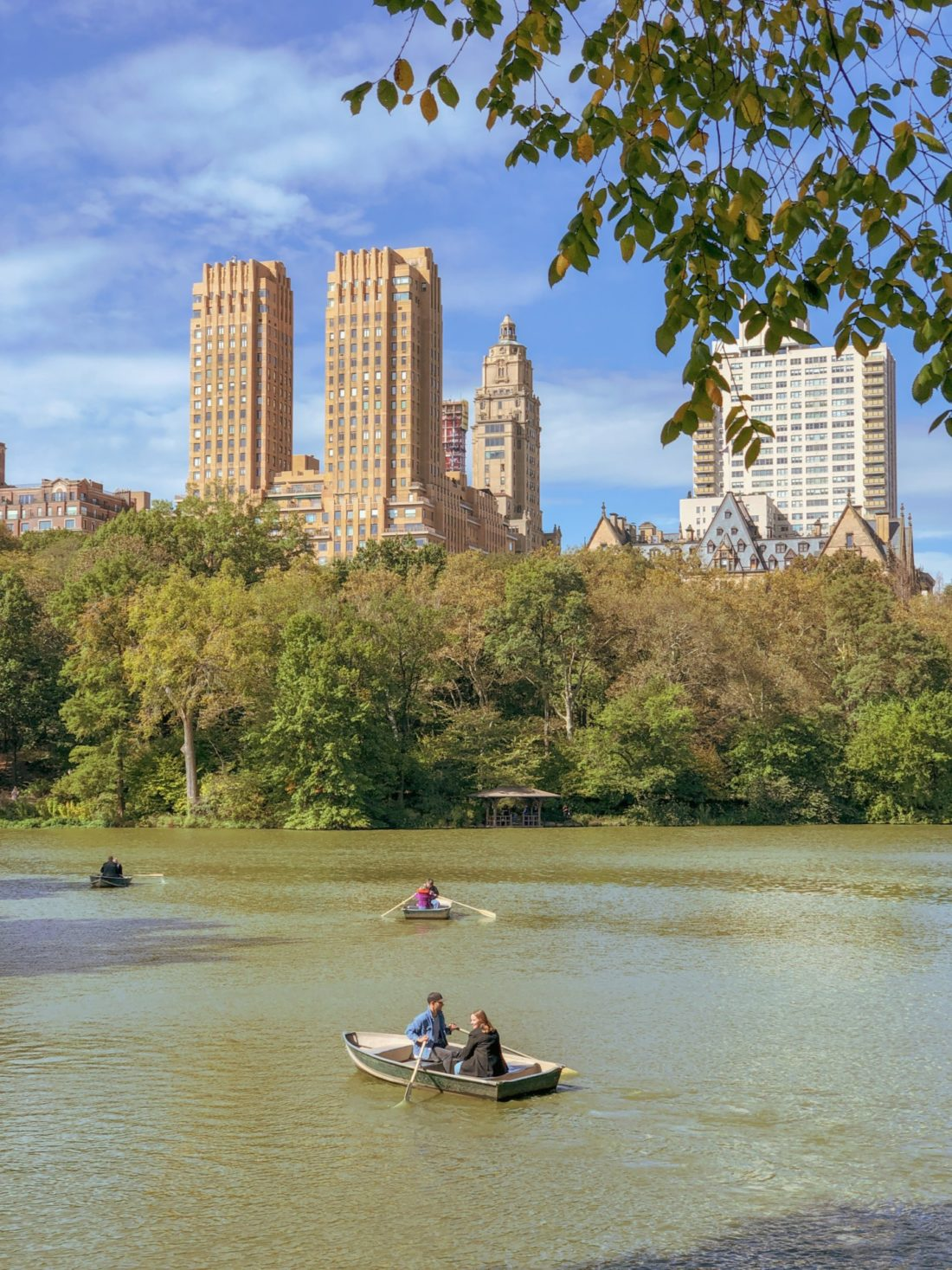 Boats on Central Park